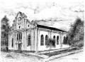 biała synagoga w sejnach.